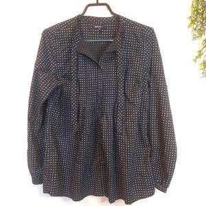 GAP MATERNITY ♡ Ladies Long Sleeve Button Up